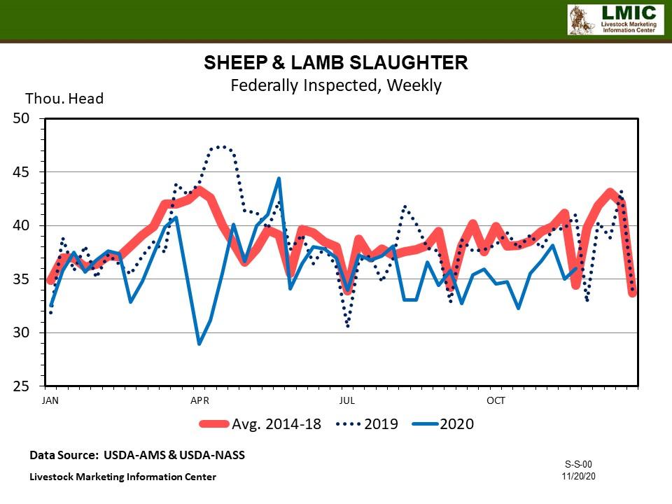 Graphic -- Sheep & Lamb Slaughter